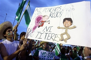 PCVs caught in street protest in Bolivia, Peace Corps withdraws volunteers from a violent neighborhood near the capital