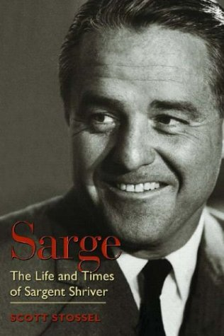 Sen. Ted Kennedy and California first lady Maria Shriver, will host a celebration today of the upcoming biography Sarge: The Life and Times of Sargent Shriver