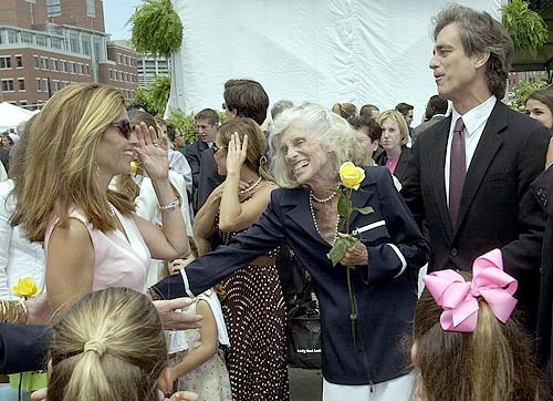 Eunice Shriver, 83, hospitalized after chilly sailing trip