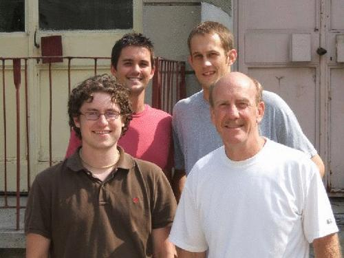 Four Nebraskans, Dave Donaldson, Jon Lentz, Scott Morris and Tim Jeffries, serve as a Peace Corps Volunteers in Romania