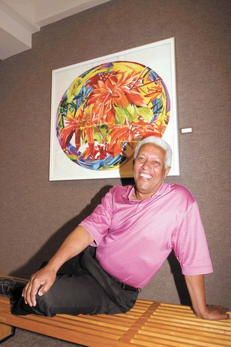 Artist Sebastiao Pereira taught Portuguese to Peace Corps volunteers for three years