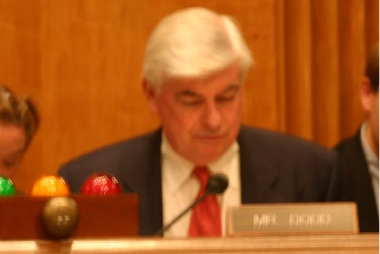 Senator Chris Dodd made his opening statement and talked about his years as a Peace Corps Volunteer in the Dominican Republic and said that his years in the Peace Corps had had a lot to do with his decision to enter public life. <BR> <BR>&#34;There has never been a moment in our history when the Peace Corps&#39; objectives were more urgent. Indeed our lack of understanding about other cultures and languages and the misperceptions that others have about our country have contributed to some of the highest rates ever of anti-American sentiment around the globe.&#34; <BR> <BR>&#34;That is why we must remember now more than ever why the Peace Corps is so important because the Peace Corps Volunteers not only help those in need but also build bridges of understanding and good trust.&#34;