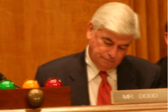 Senator Dodd asks about the five-year rule