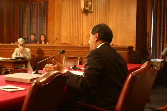 Director Vasquez said that &#34;two years ago in our appropriations bill, language was included  that authorized the Director of the Peace Corps to exempt employees who worked in safety and security from the five year rule.&#34; <BR> <BR>&#34;Conceptually the five year rule has been viewed as a way of generating turnover or rotation that keeps the agency some would describe it as fresh, energized.  It minimizes the chances of an entrenched bureaucracy from taking hold and thereby minimizing the possibility of affecting the creativity that makes the Peace Corps such a unique agency.&#34;