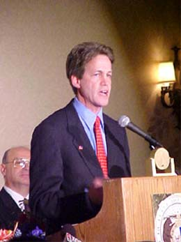 Norm Coleman, head of the Senate subcommittee that oversees the Peace Corps, is an ambitious crusader: How does a Jewish kid from Brooklyn who loved the Dodgers and led student protests in college, who served as Bill Clinton's state campaign cochair in 1996, end up as a conservative, antiabortion Republican senator from Minnesota with a Hollywood-actress wife?