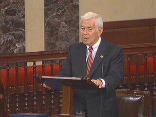 Senator Lugar says Political briefings given by Bush White House aides to high-ranking diplomats were probably inappropriate and should stop