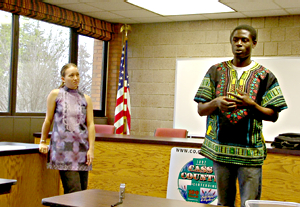 Shannon May and her husband, Charles Fai returned to the Walker area recently and spoke about their work in Cameroon