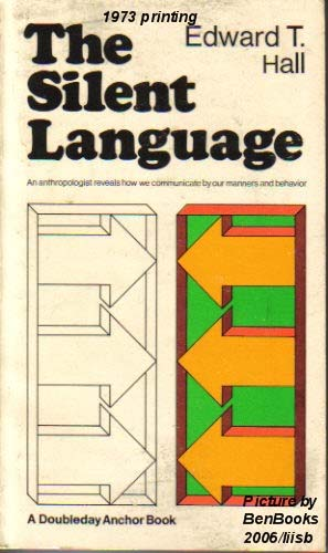 A required text in orientation programs for both AID and Peace Corps personnel long has been a little book by Edward T. Hall (1980) called The Silent Language, which stresses the importance of this nonverbal communication