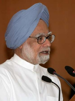 India's Prime Minister Manmohan Singh praises Peace Corps