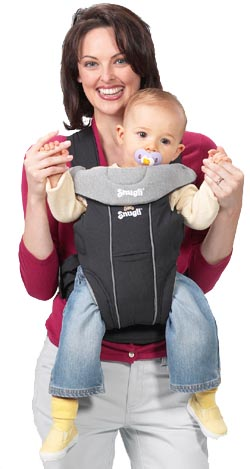 Inspired by the fabric baby-carrying slings she had seen mothers use when she was a Peace Corps nurse in West Africa in the 1960s, Ann Moore came home and invented the Snugli® baby carrier