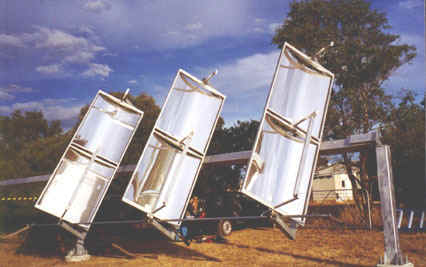 Randall Parker raises questiions about Solar Power Generator
