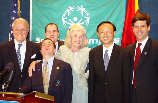 The secret to the success of Special Olympics lies in the fact that Eunice Shriver and her family have never looked at Special Olympians as those to be pitied