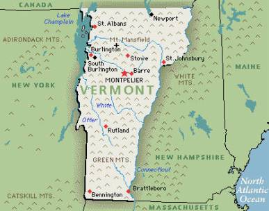 Vermont has the highest per capita number of Volunteers in the field