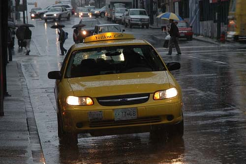 RPCV Owen Cylke writes: Taxi in the Rain