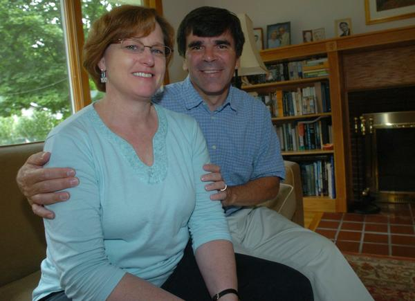 Theresa and Tim Garvin sereved as members of the Peace Corps in Jamaica in the 1990s