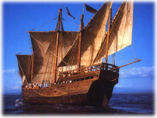 Brazil RPCV John Patrick Sarsfield's replica of Columbus's ship visits Oswego