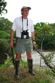 Ecuador RPCV Tom Larson bought about 200 acres of rainforest near the headwaters of the Amazon River in Ecuador