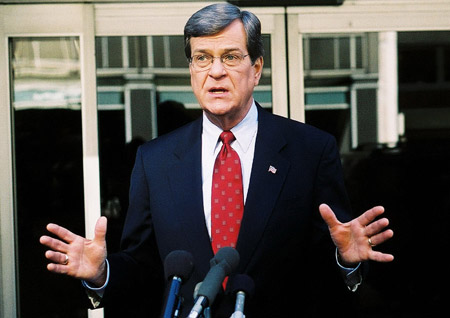 The day may come when any United States citizen must serve their country through the military, Peace Corps, or other organization upon their high school graduation or 18th birthday, said U. S. Senator Trent Lott, R-Miss.