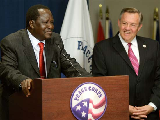 Kenyan Prime Minister Visits Peace Corps Headquarters