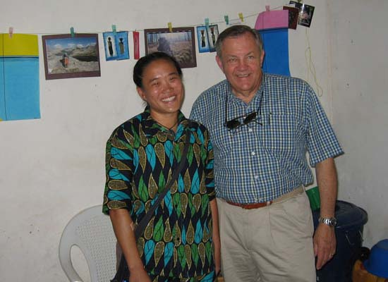 Peace Corps Director Visits Volunteers in Burkina Faso
