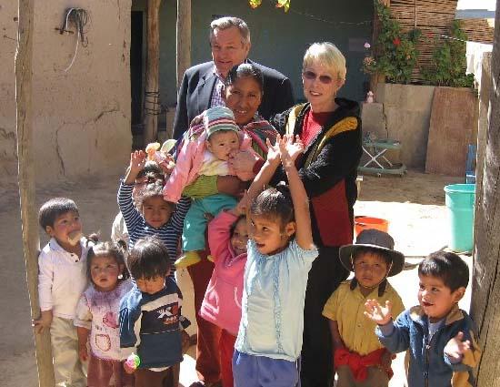 Tschetter in Bolivia