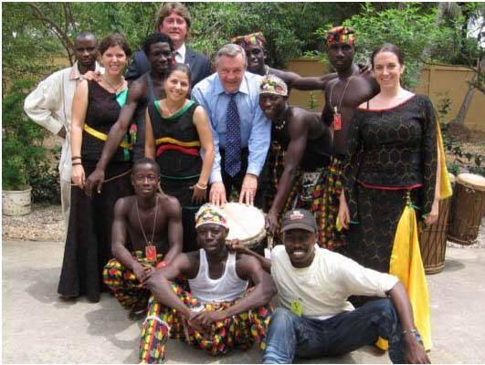 Peace Corps Director Visits Guinea