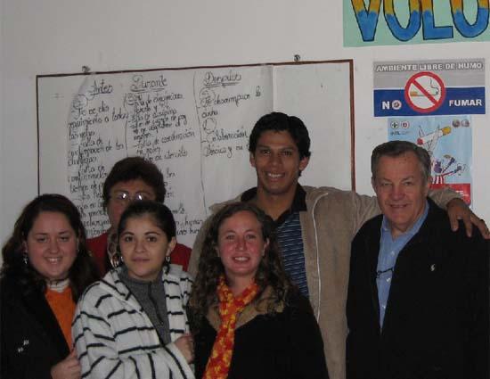 Tschetter in Paraguay for 40th anniversary of program