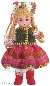 Ukraine RPCV Wini Yunker collects dolls