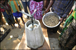 RPCV Jock Brandis, develops the Universal Nut Sheller for the peanut industry in the Philippines