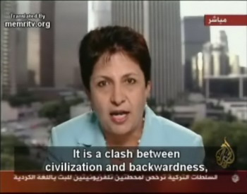 Arab-American Psychiatrist Wafa Sultan: There is No Clash of Civilizations but a Clash between the Mentality of the Middle Ages and That of the 21st Century