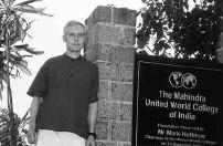 Lesotho RPCV William Lyons teaches in India