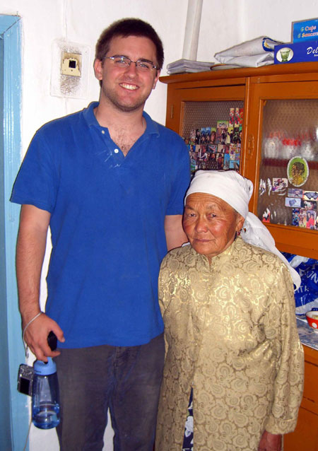 Will Romine was posted to Kyrgyzstan where he serves as a Peace Corps Volunteer