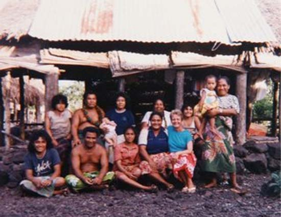 RPCV Winifred Huff traded her apartment for a house without walls in Samoa