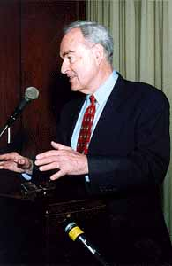Ethiopia Country Director and Senator Harris Wofford