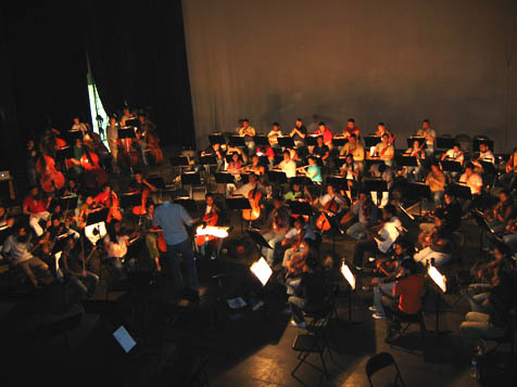 Anna Forgie writes: During the past 22 months, I have worked as a Peace Corps volunteer with the National Youth Orchestra of El Salvador