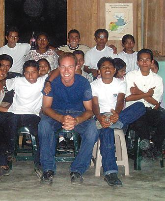 For the past two-and-a-half years, Zach Laurie has worked and lived in a small village called Salacuim in Guatemala