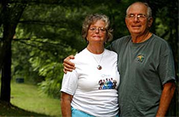 Katie and John Zawacki recently returned to their home after spending two years and three months with the Peace Corps in St. Lucia, a small island in the Eastern Caribbean