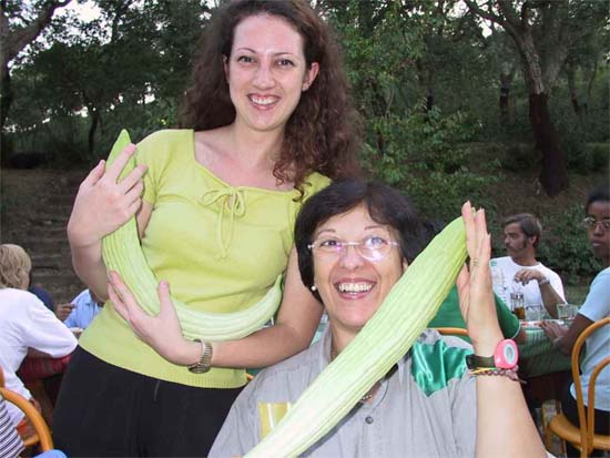 Ann and Chris Smith got accustomed to zucchini during their four years with Peace Corps in Turkey