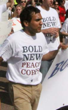 Jan 9, 2011: Push for the Peace Corps Date: January 9 2011 No: 1464