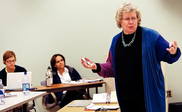 Peru RPCV Ann Weaver Nichols is retiring in August as coordinator of the Tucson component of Arizona State University's School of Social Work
