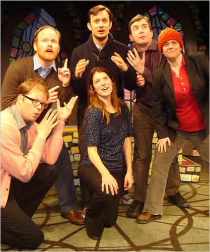 "Improv Groups puts on ""Peace Corps: The Musical"
