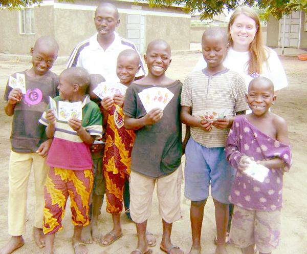 Bailey Shook of Du Quoin has completed her first year as Peace Corps volunteer working in the Kisoro District in the southwest corner of Uganda helping over 200 orphaned and vulnerable children