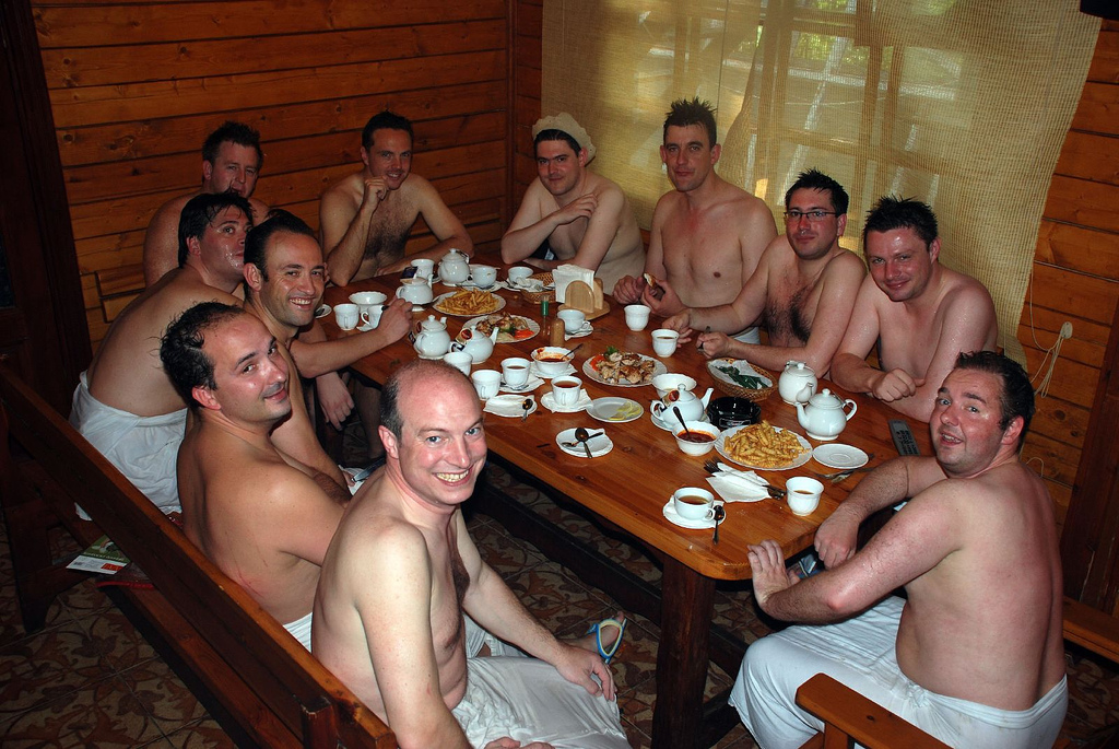 Kazakstan Peace Corps Volunteer Dustin Hogenson  writes: A sauna does not adequately describe the initial awkwardness of a banya