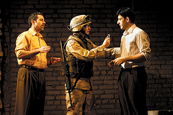Based on his reportage for The New Yorker, George Packer has written a moving if unsubtle play about the Iraqis who worked for Americans in the early years of occupation