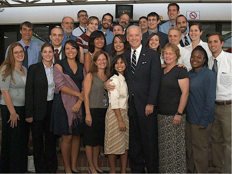 Vice President Biden Meets With Peace Corps Volunteers And Staff In Costa Rica