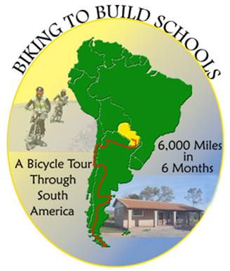 Even with some 3,000 kilometres already behind her, Paraguay RPCV Karen Schlatter still has a lot of pedaling left to finish her cycling journey from Tierra del Fuego to Paraguay