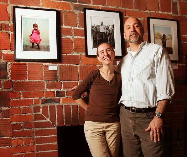 RPCVs Debra and Bob Hicks, who operate the nonprofit Botswana Orphan Program, have organized the monthlong photo show and a one-night dance benefit