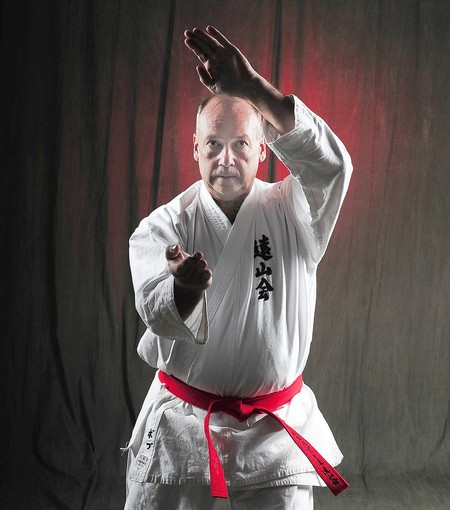 Morocco RPCV Bob Hollinger embraced karate, training under one of Japan's grand master teachers, Hanshi Mikio Tanaka, who holds the highest rank in the Toyama-ryu style of karate