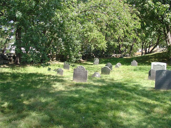 Peace Corps Volunteer Judy Gates writes: Old Burial Hill is in need of repair