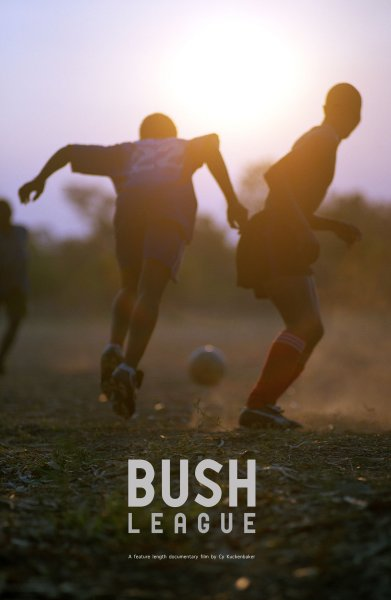 Lithuania RPCV Cy Kukenbaker directs Bush League about soccer in Malawi